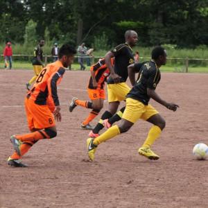 Fußballer kämpfen