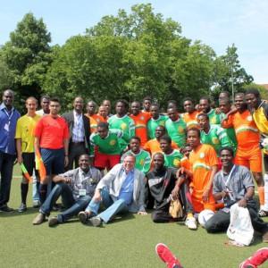 Gruppenbild Team Niger und Kamerun
