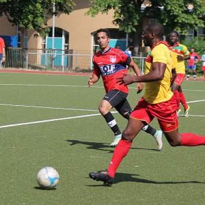 Spiel UN Team gegen Gambia