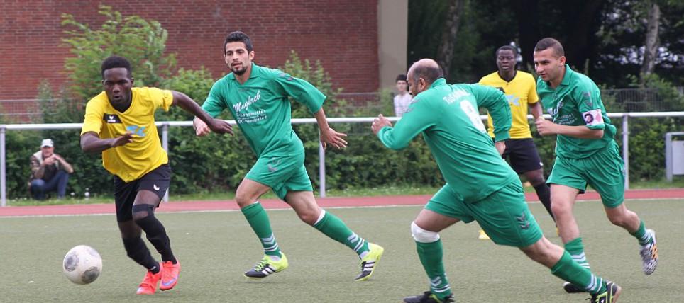 Spiel Algerien - Kamerun (2)